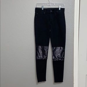 Express Sequence Jeans